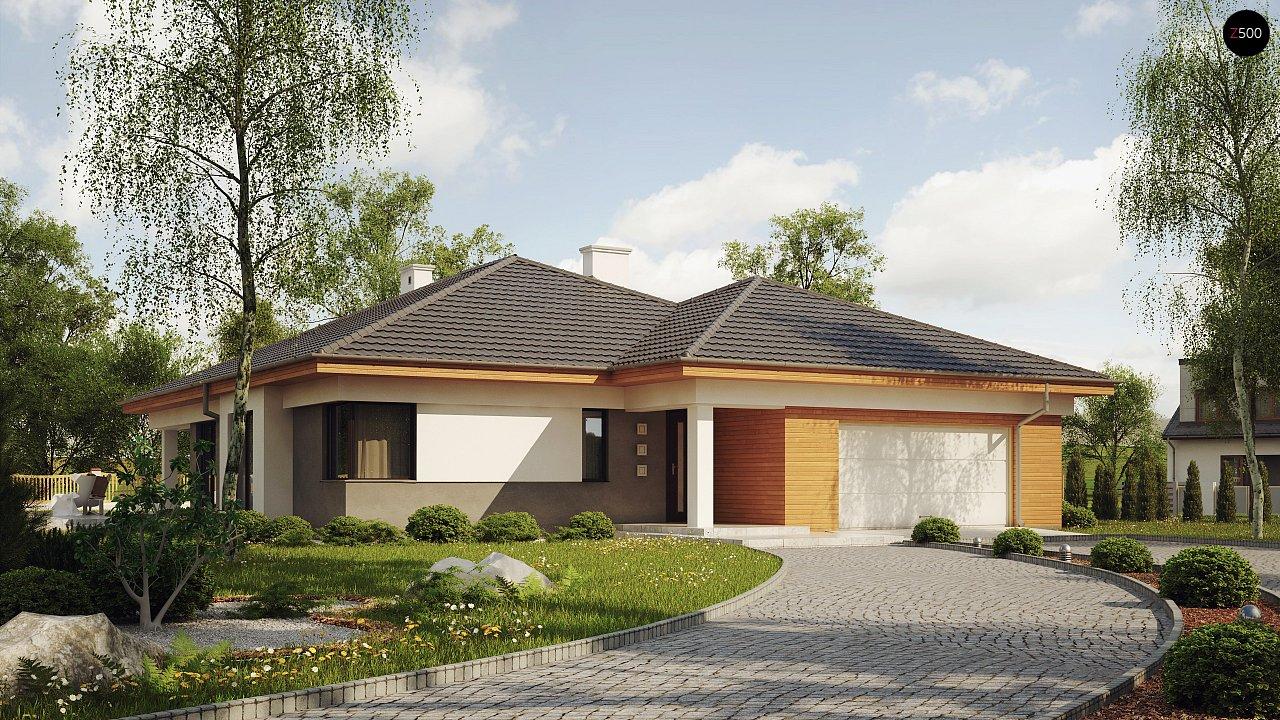 Проект дома Z281 - 1