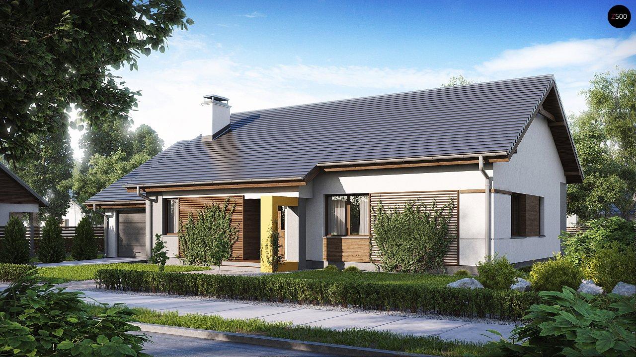Проект дома Z287 - 1