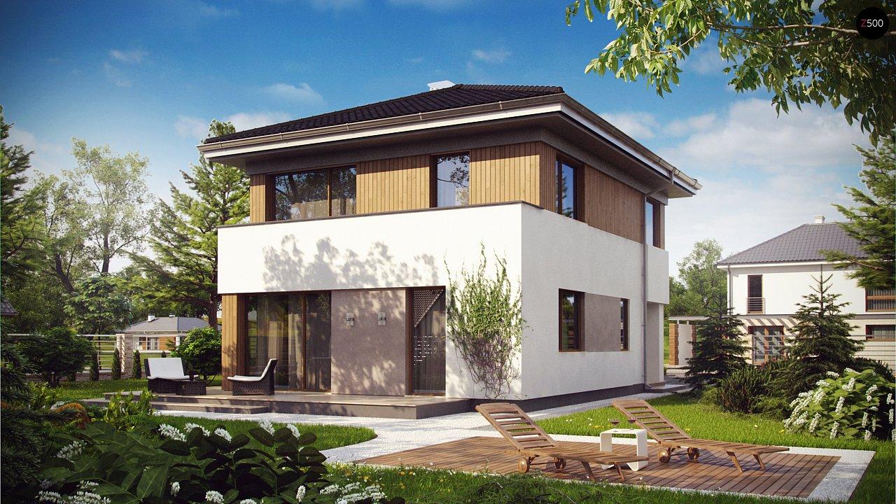Проект дома Z295
