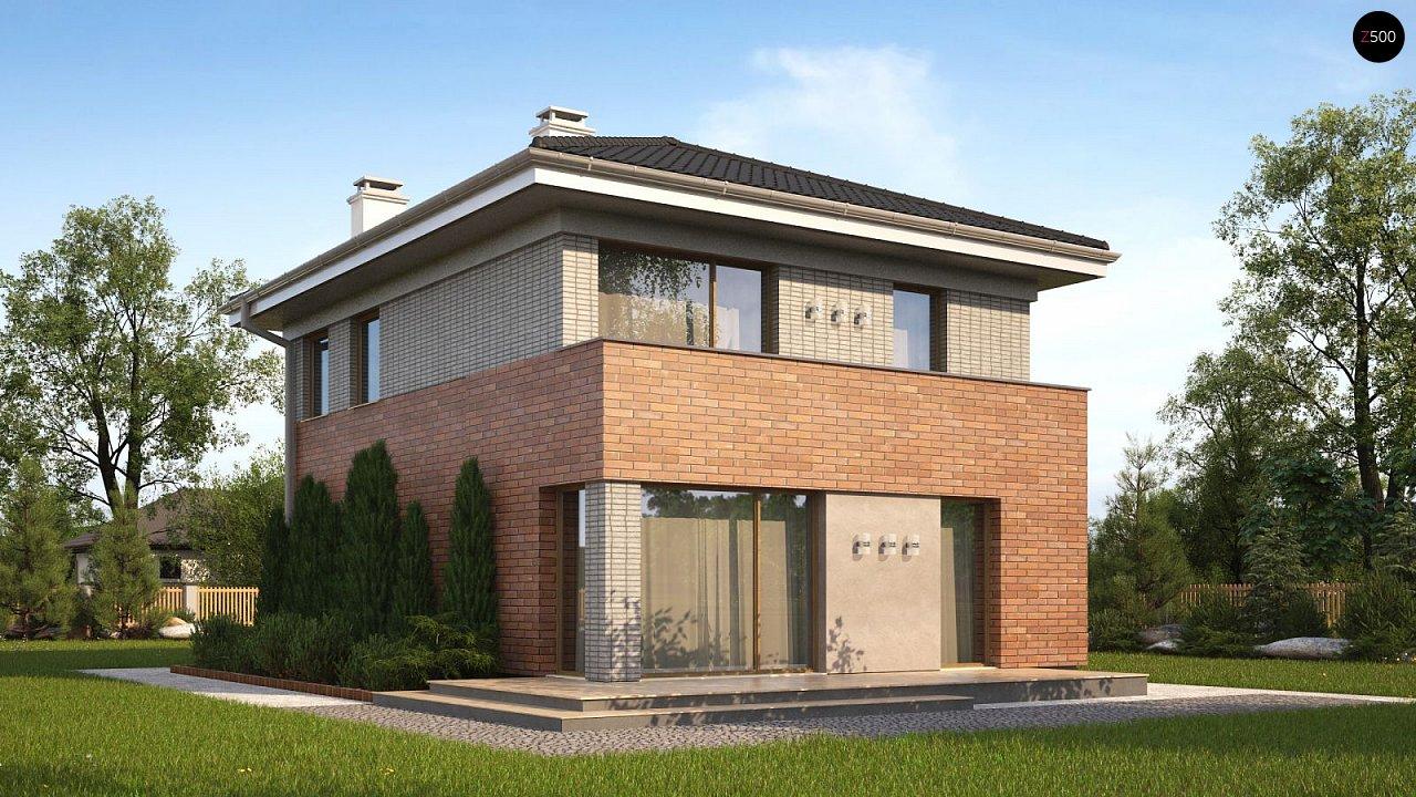 Проект дома Z295 k