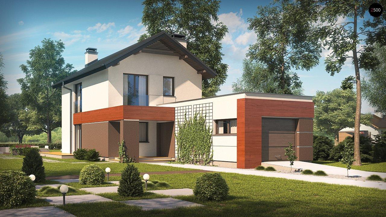 Проект дома Z297 GF