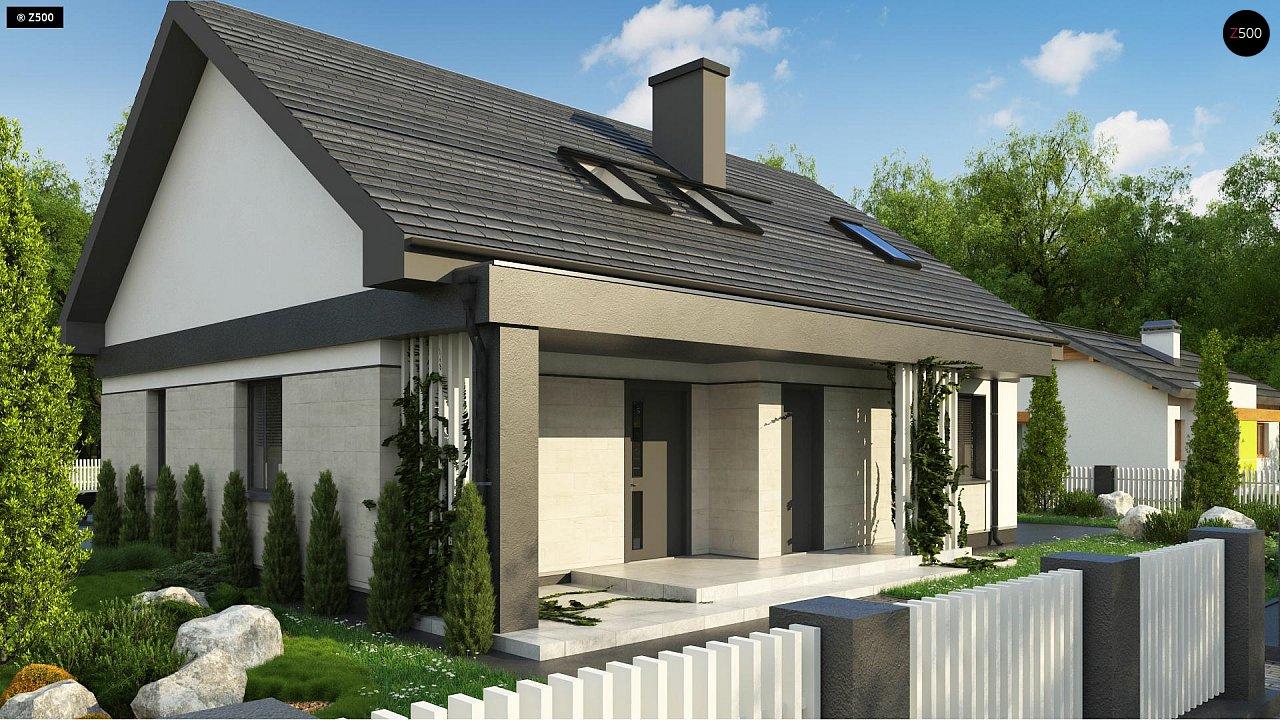 Проект дома Z316 p