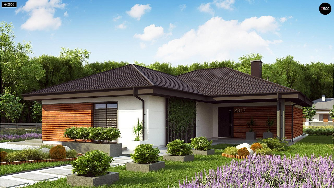 Проект дома Z317 - 1