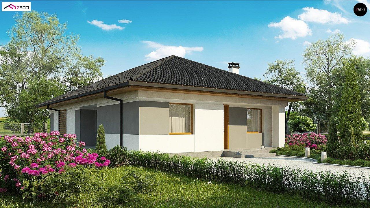 Проект дома Z328 - 1