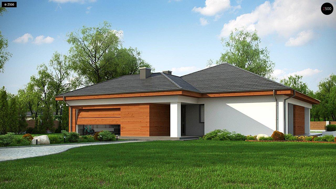 Проект дома Z333 - 1