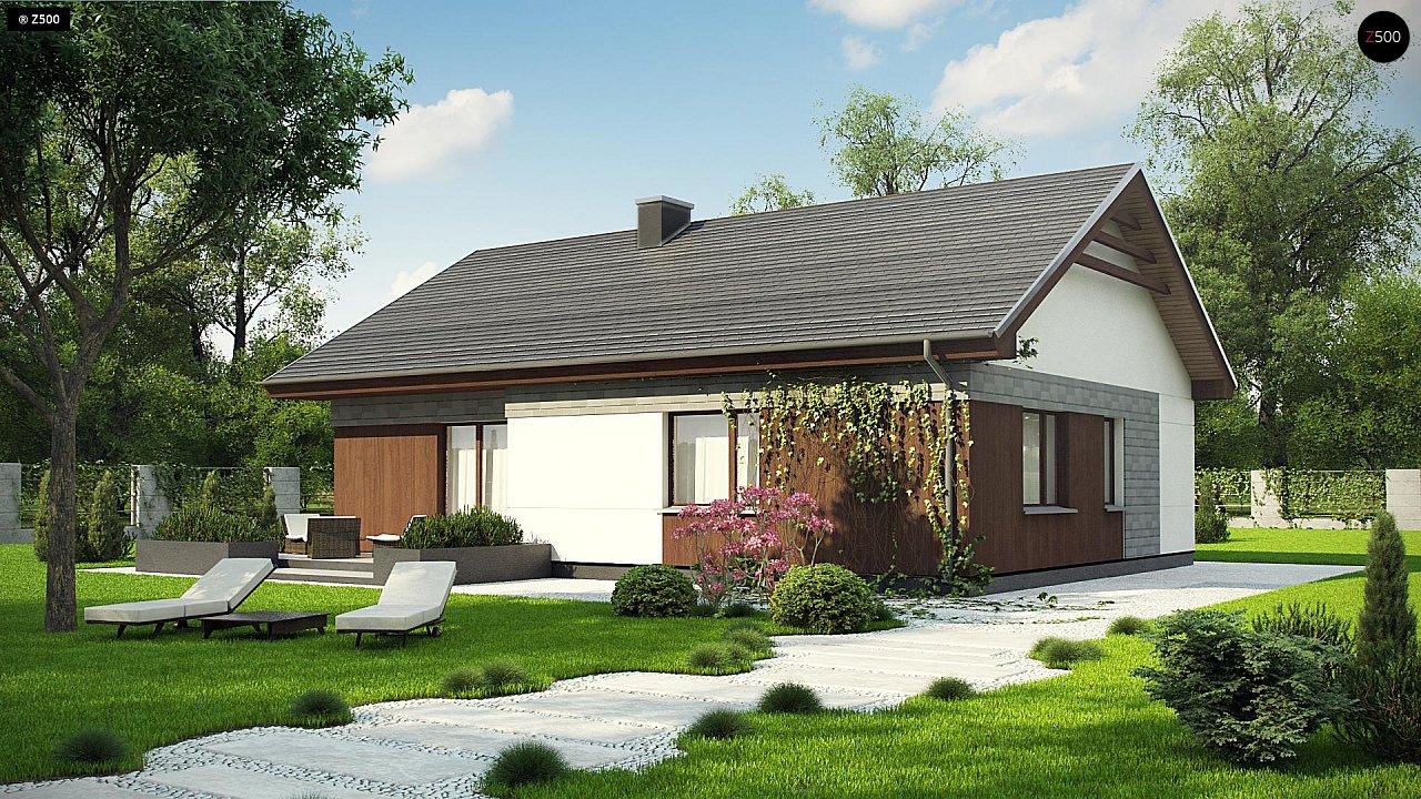 Проект дома Z334 - 1