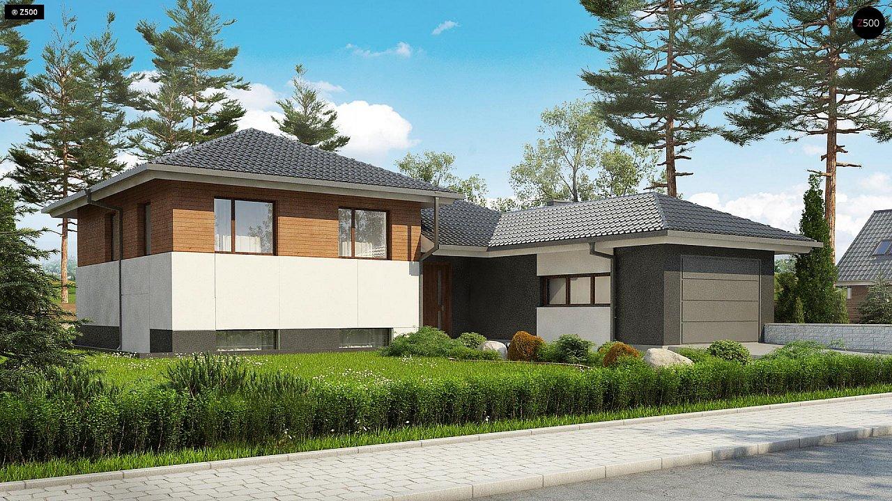 Проект дома Z335 - 1