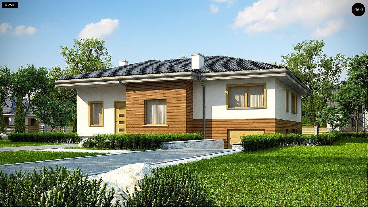 Проект дома Z337