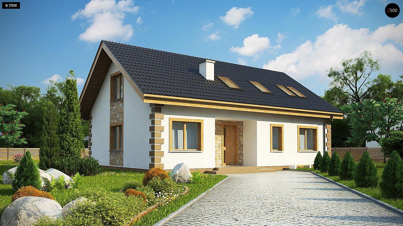 Проект дома Z343 - 1