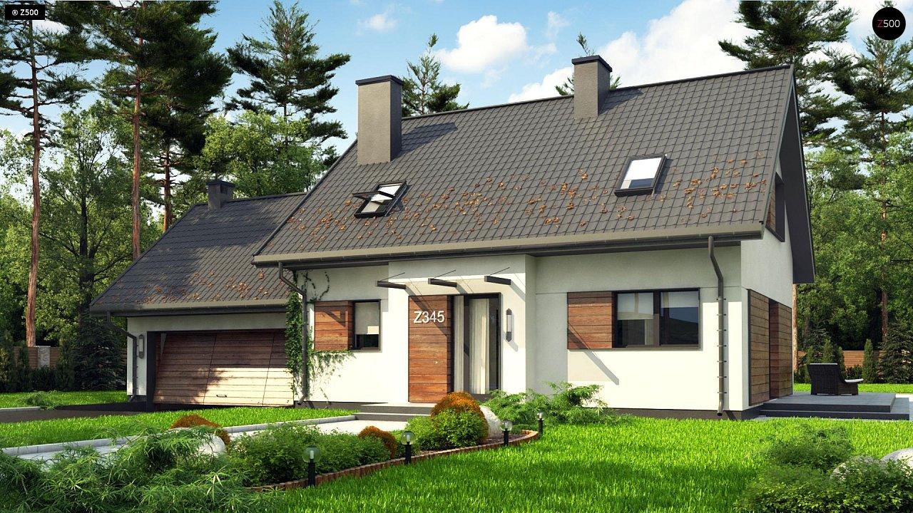 Проект дома Z345 - 1