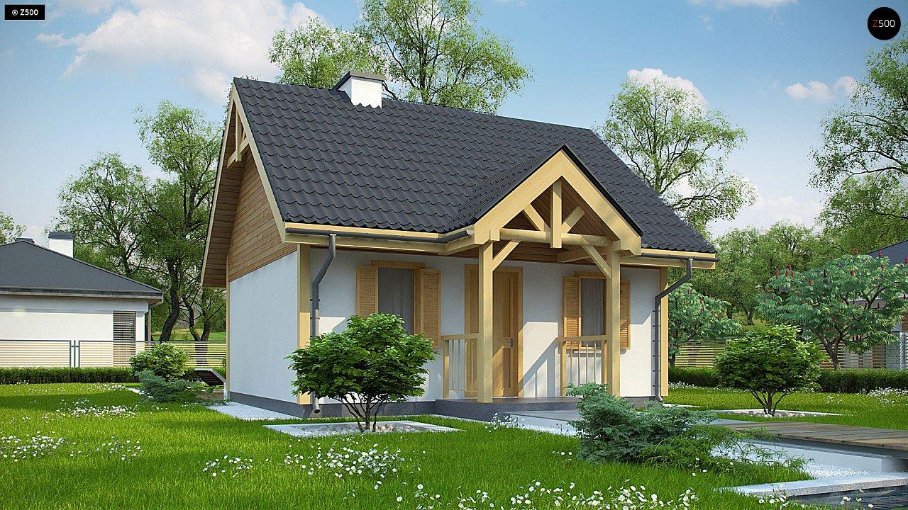 Проект дома Z352 - 1