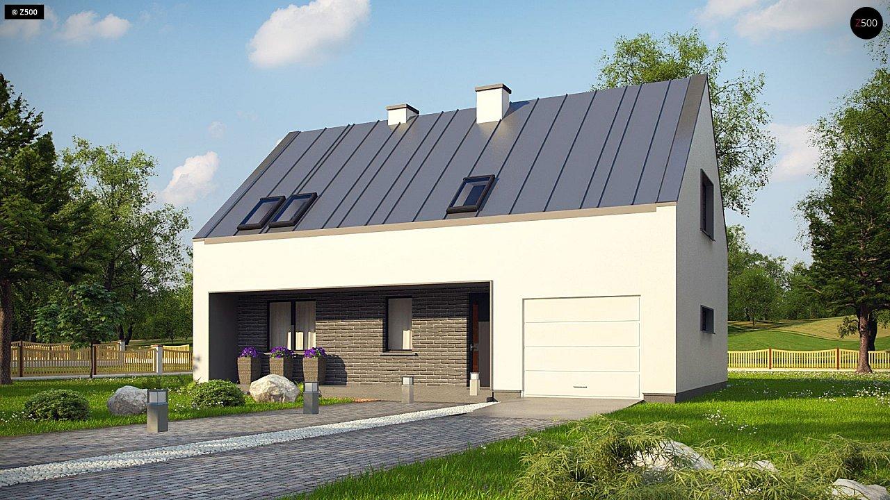 Проект дома Z353 - 1
