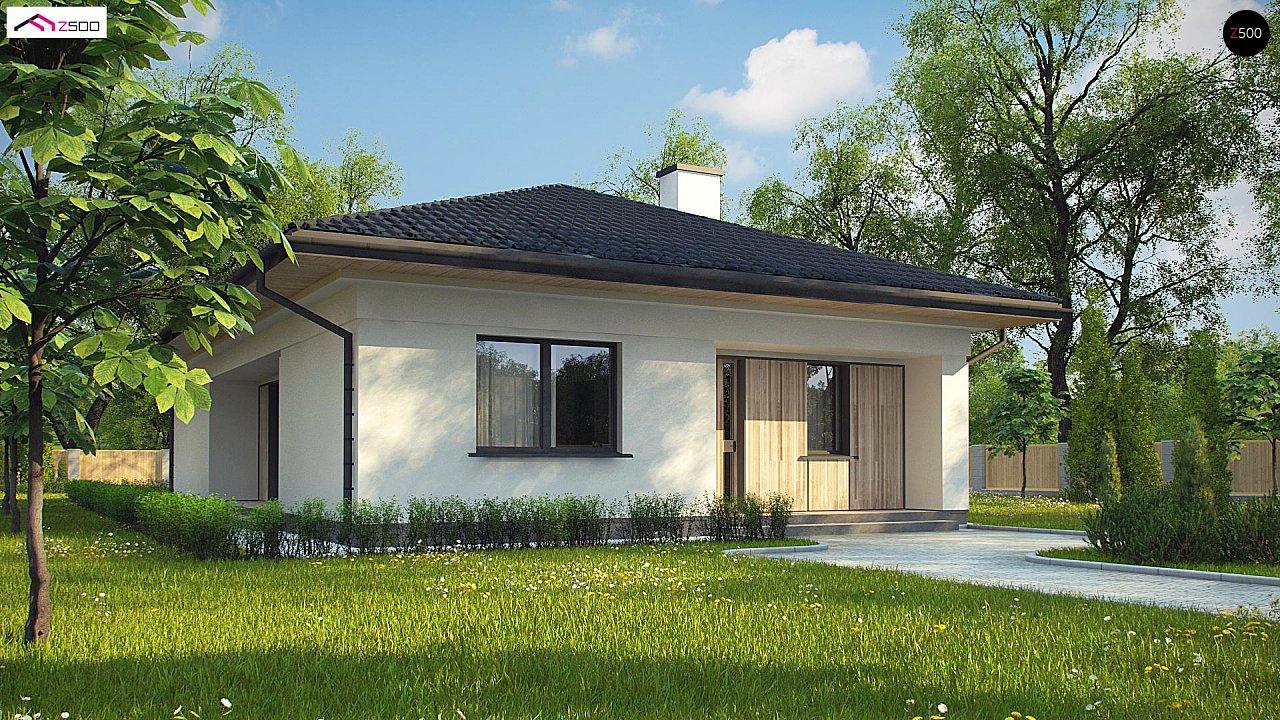 Проект дома Z354 - 1