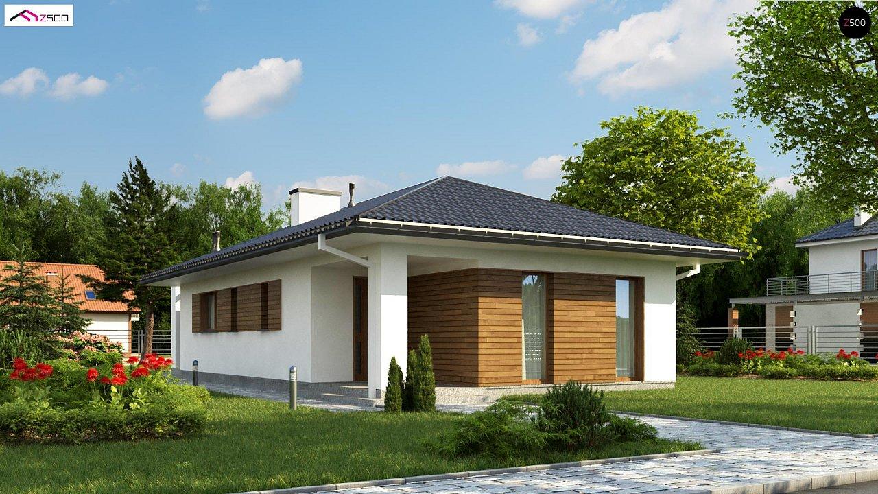 Проект дома Z355