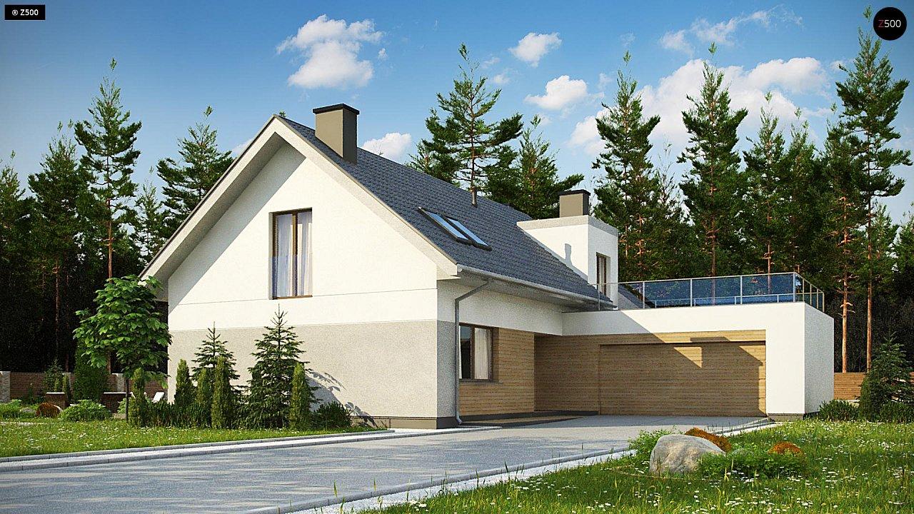 Проект дома Z358 - 1