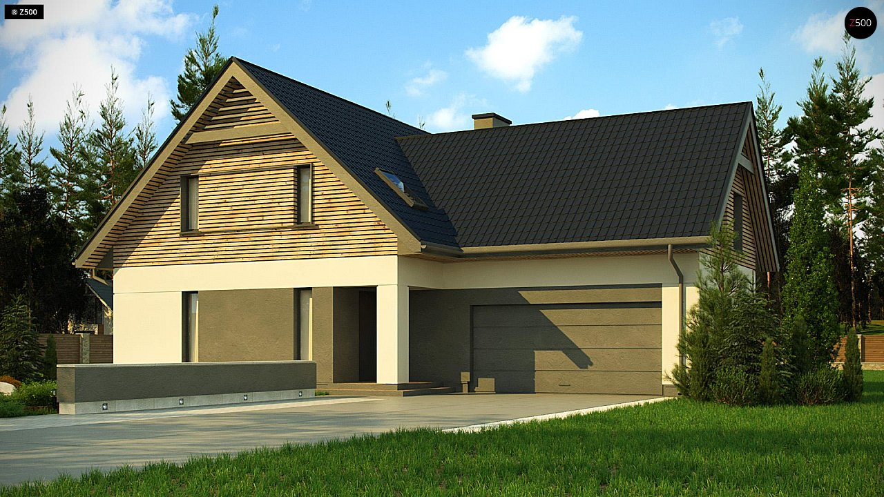 Проект дома Z359