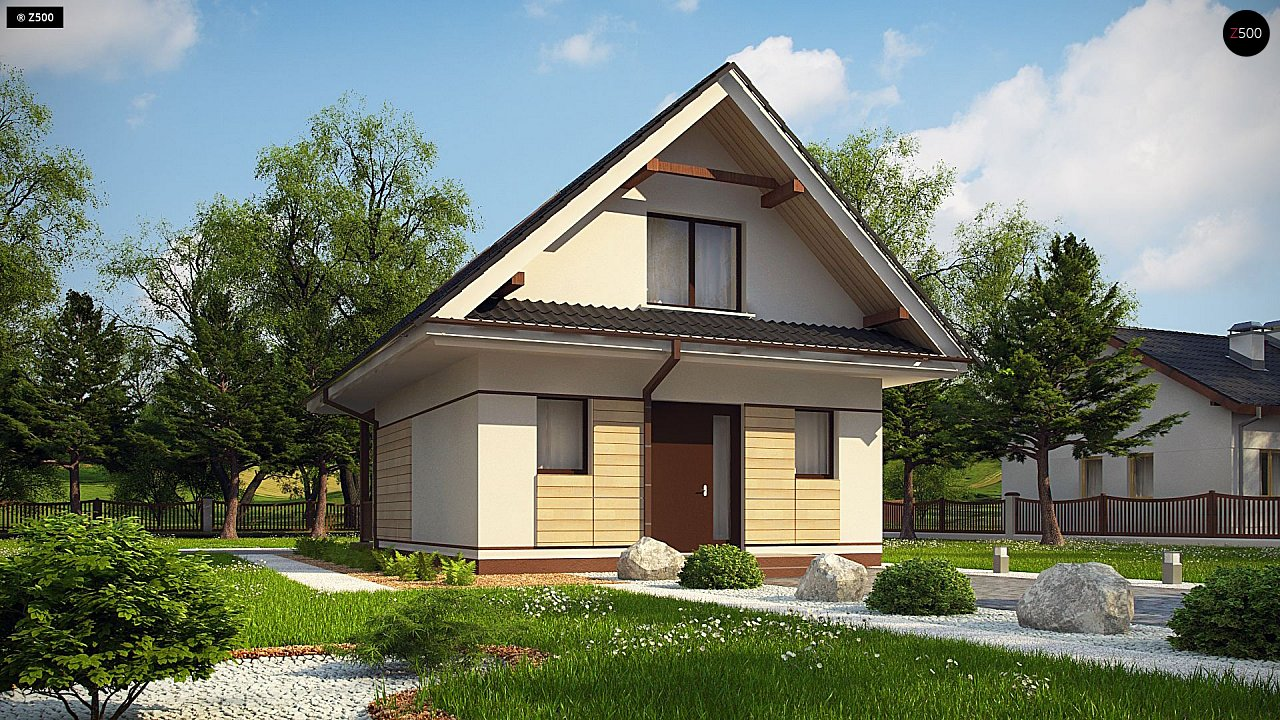 Проект дома Z362 - 1