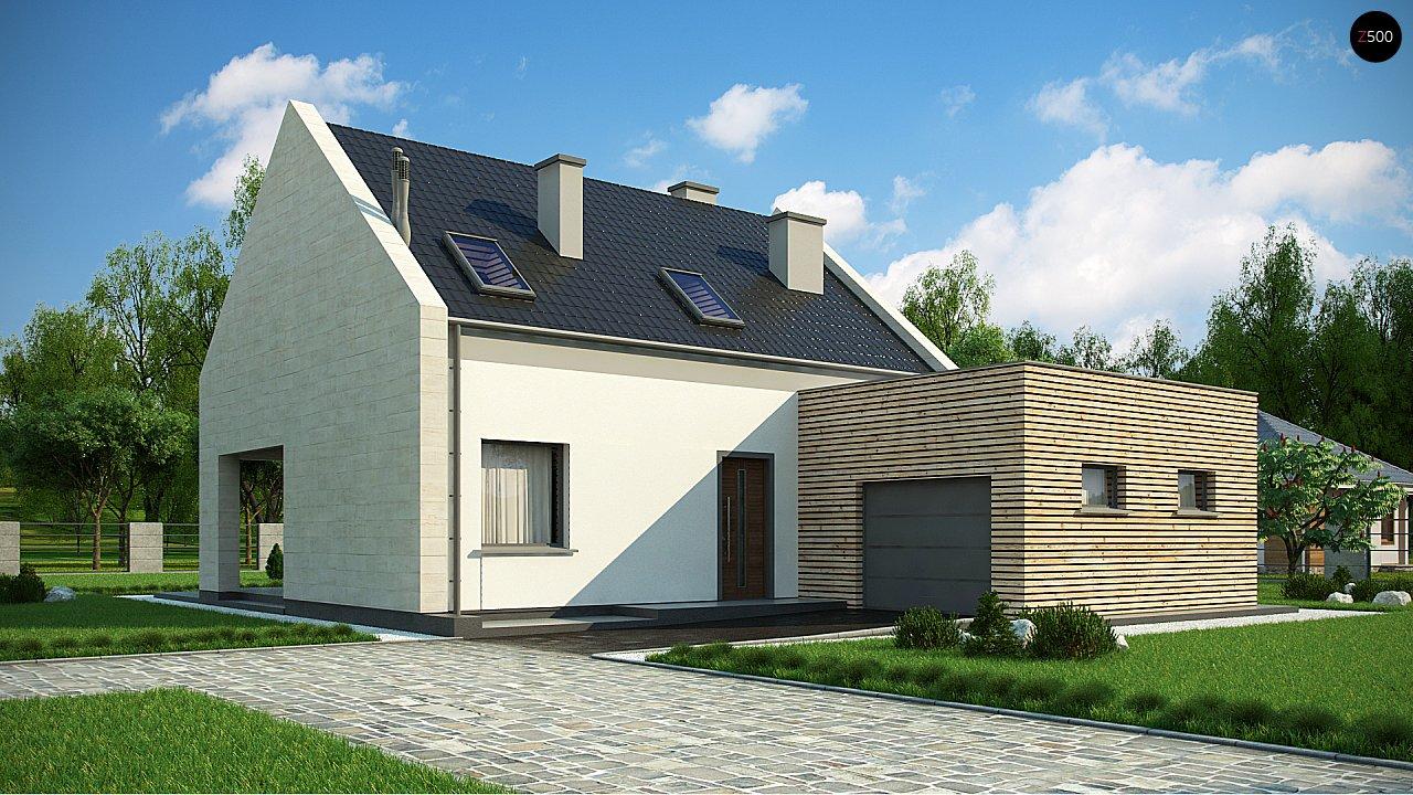Проект дома Z364 - 1