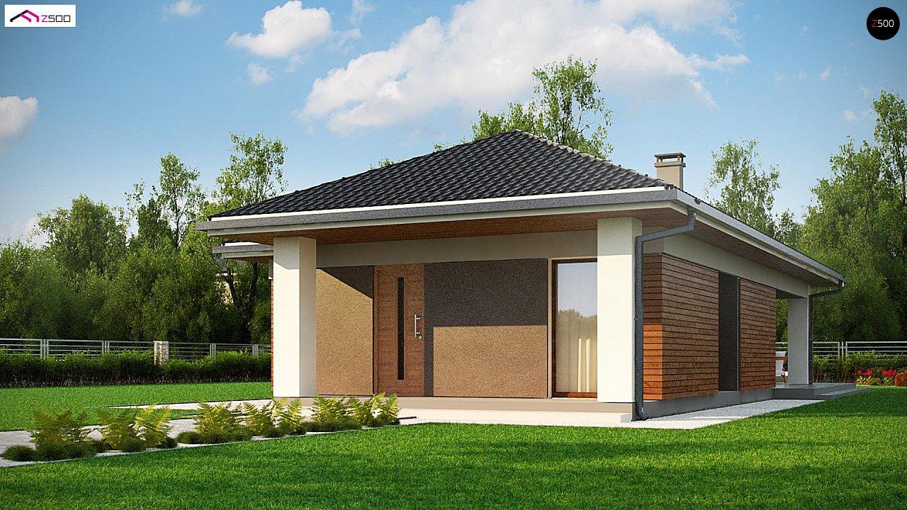 Проект дома Z366 - 1