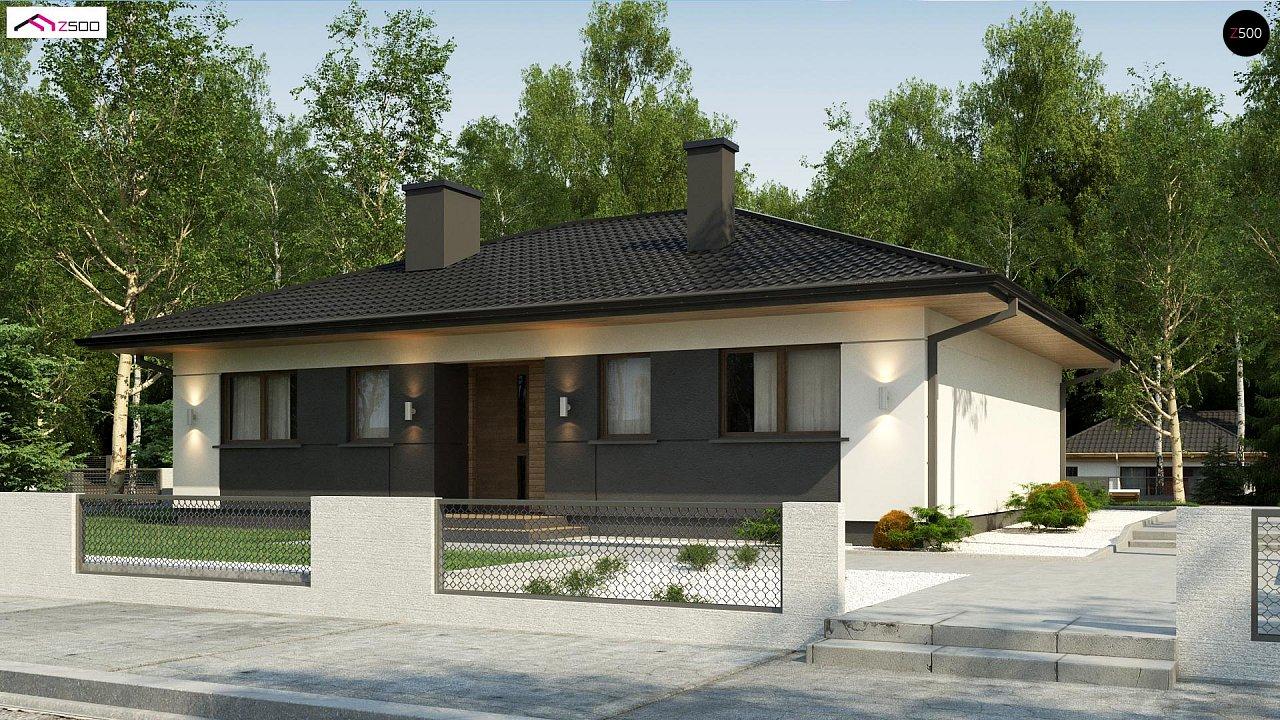 Проект дома Z368 D
