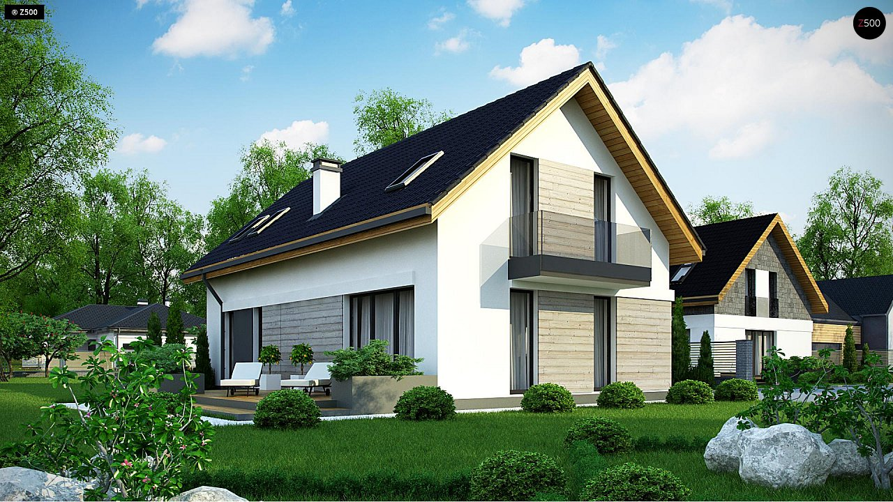 Проект дома Z370 - 1