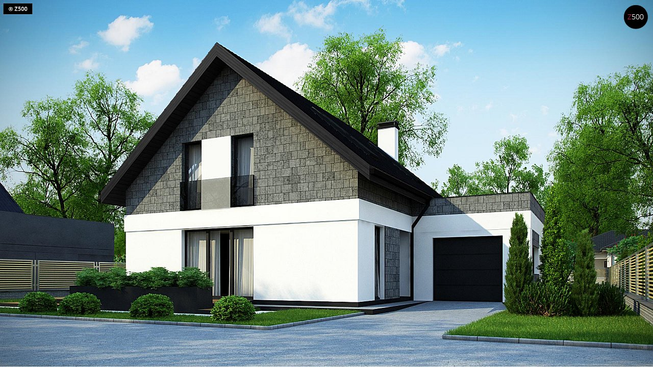 Проект дома Z371 - 1