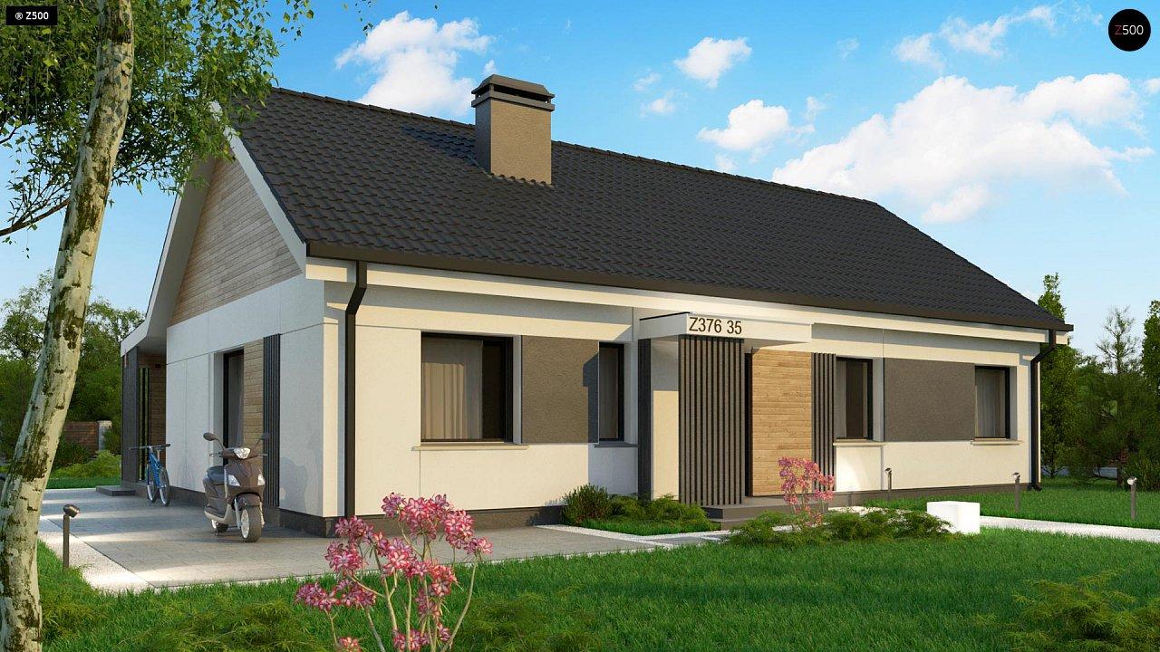 Проект дома Z376 35 - 1
