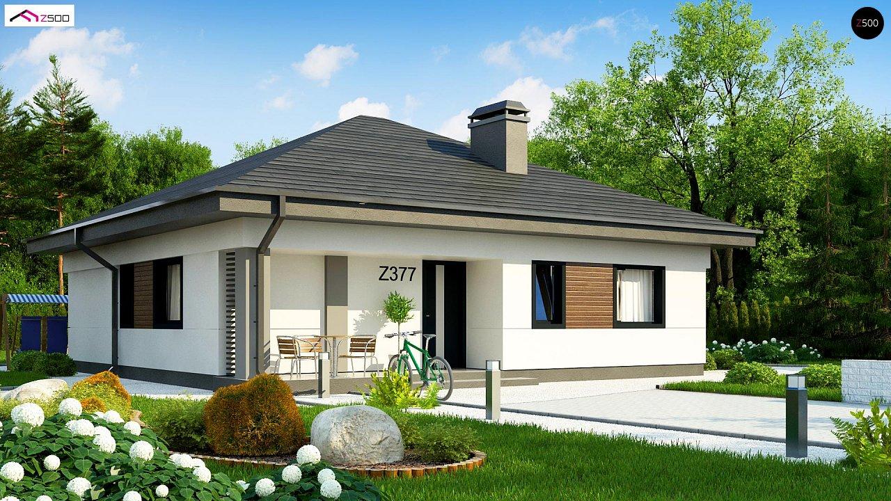 Проект дома Z377 - 1