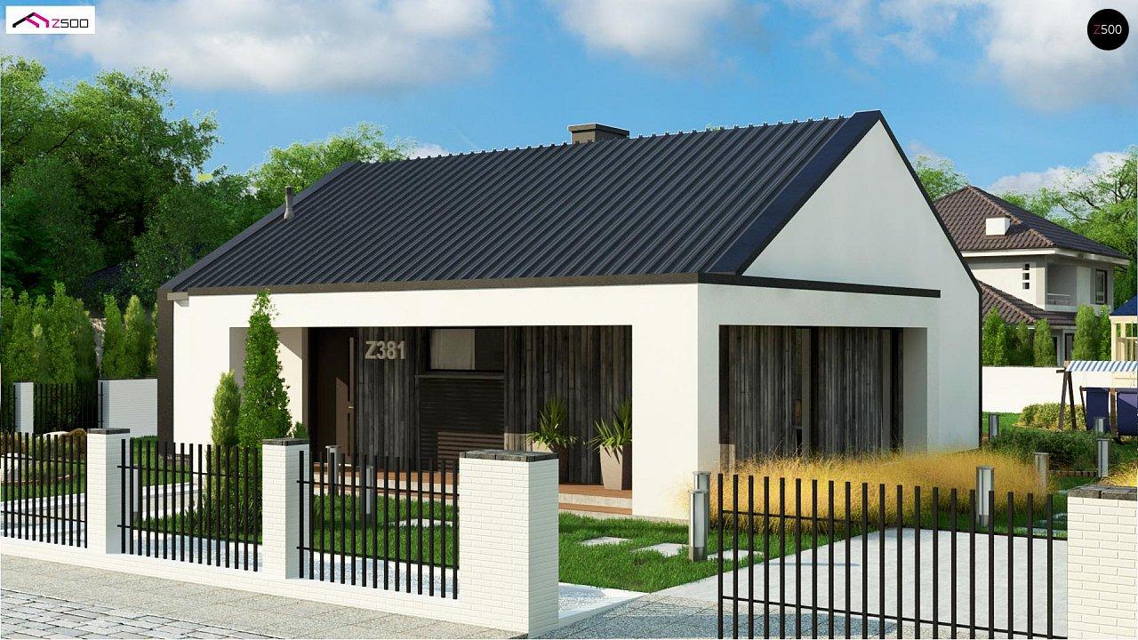 Проект дома Z381 - 1
