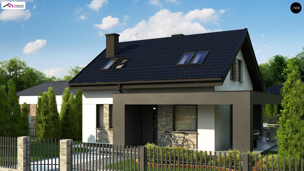 Проект дома Z382 - 1