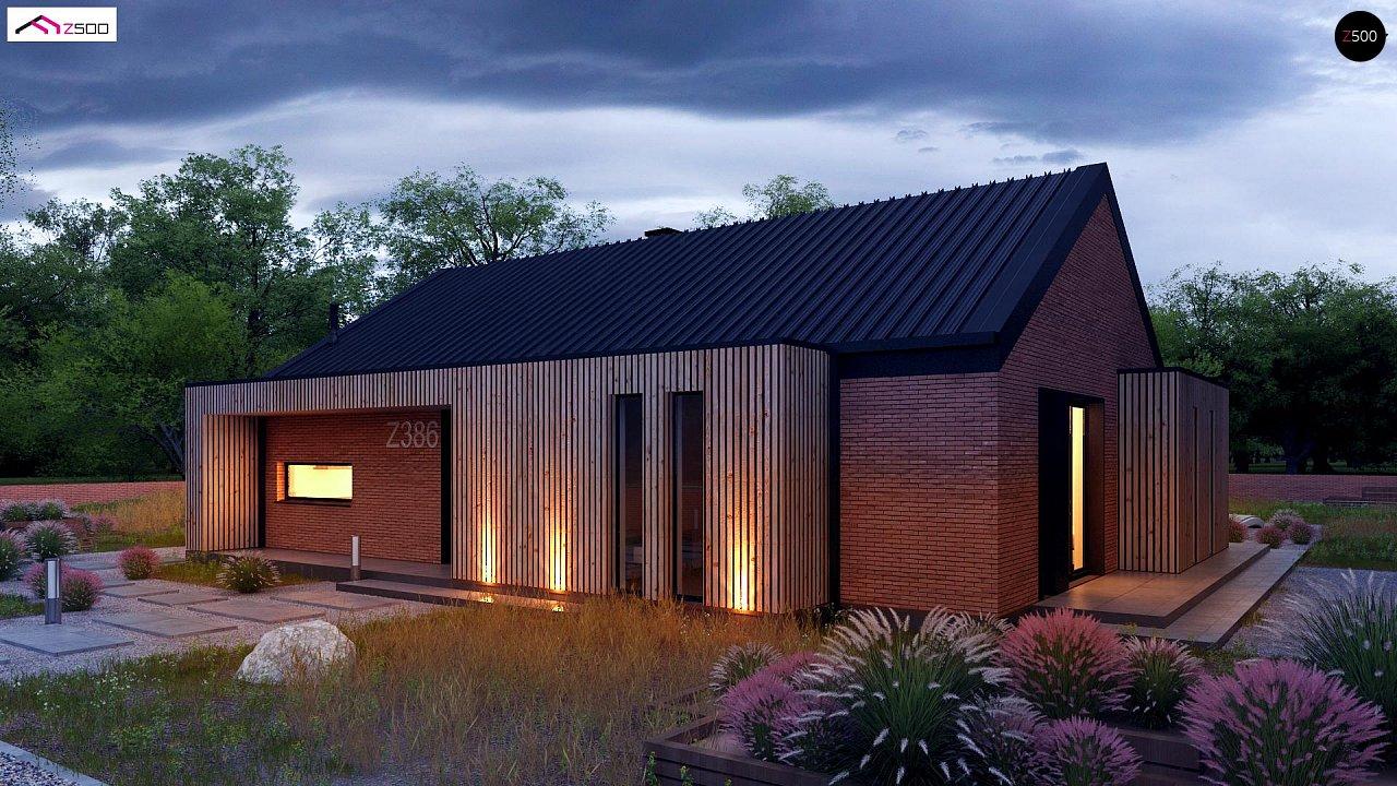 Проект дома Z386