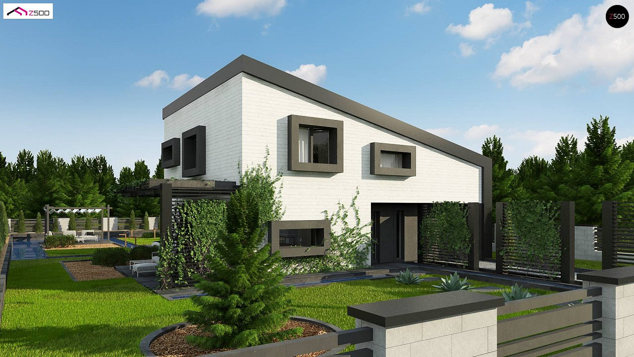 Проект дома Z391 - 1