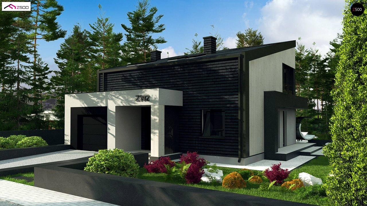 Проект дома Z392 - 1