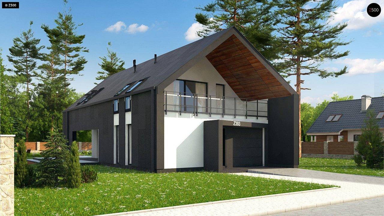 Проект дома Z393