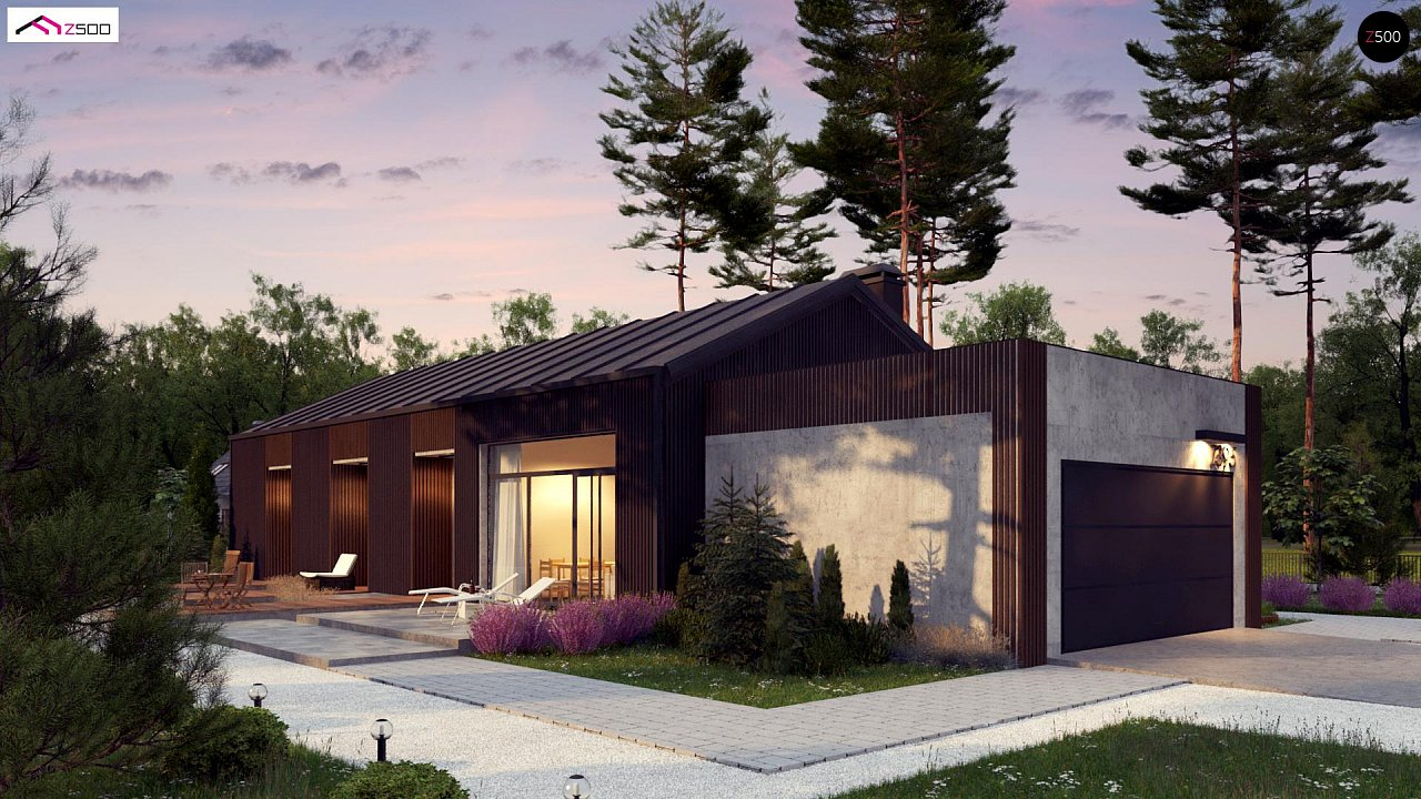Проект дома Z395