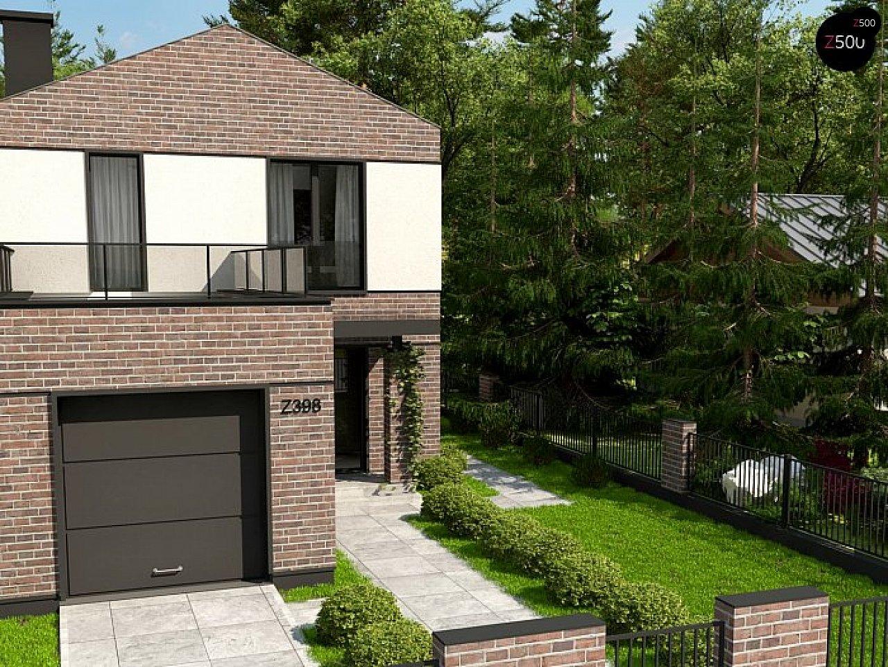 Проект дома Z398 v1 - 1
