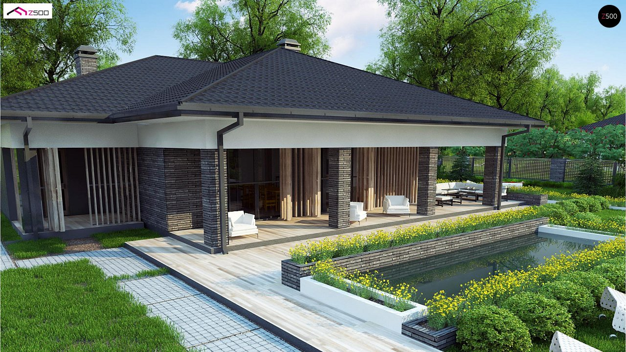 Проект дома Z400 - 1