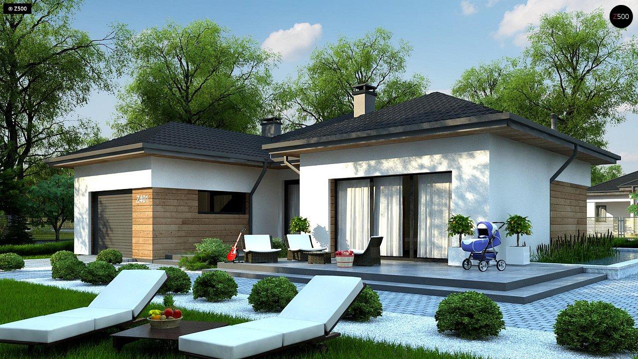 Проект дома Z401 - 1