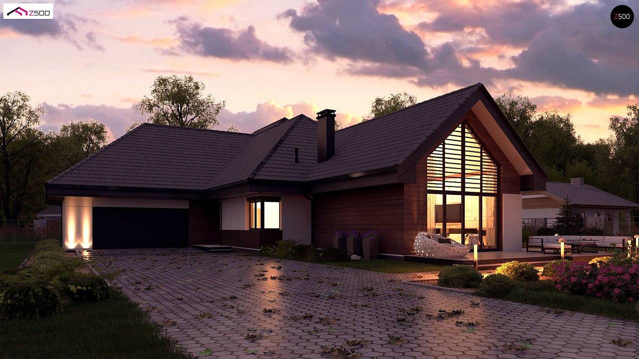 Проект дома Z402 B+ - 1