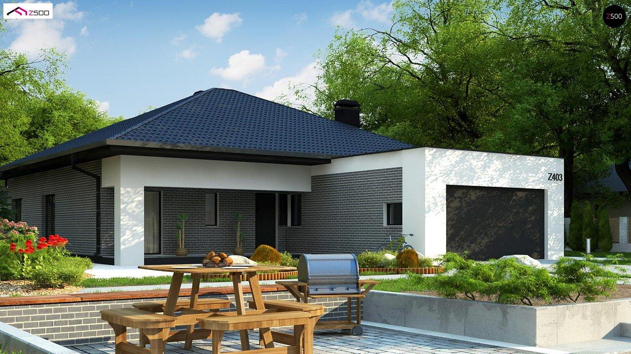 Проект дома Z403 - 1
