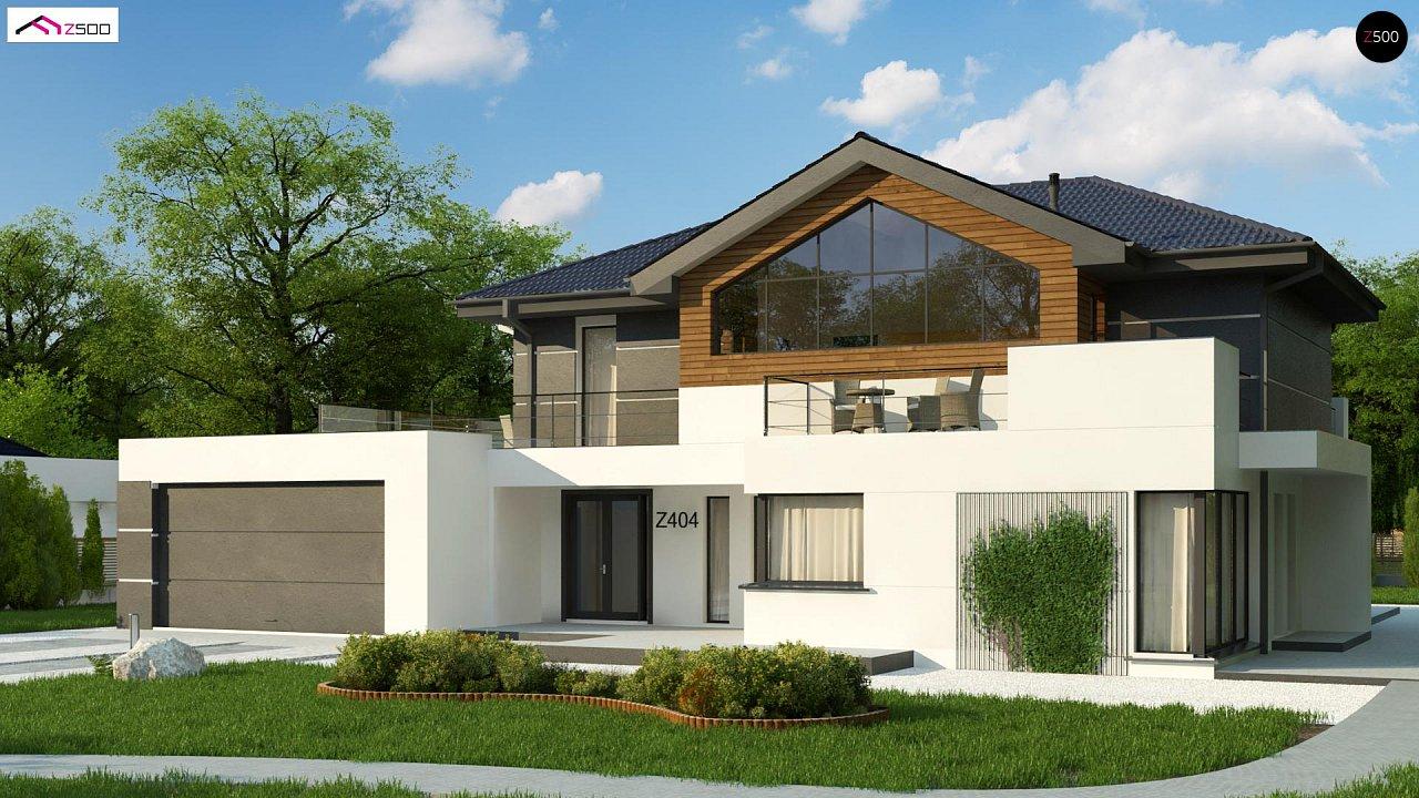 Проект дома Z404 - 1