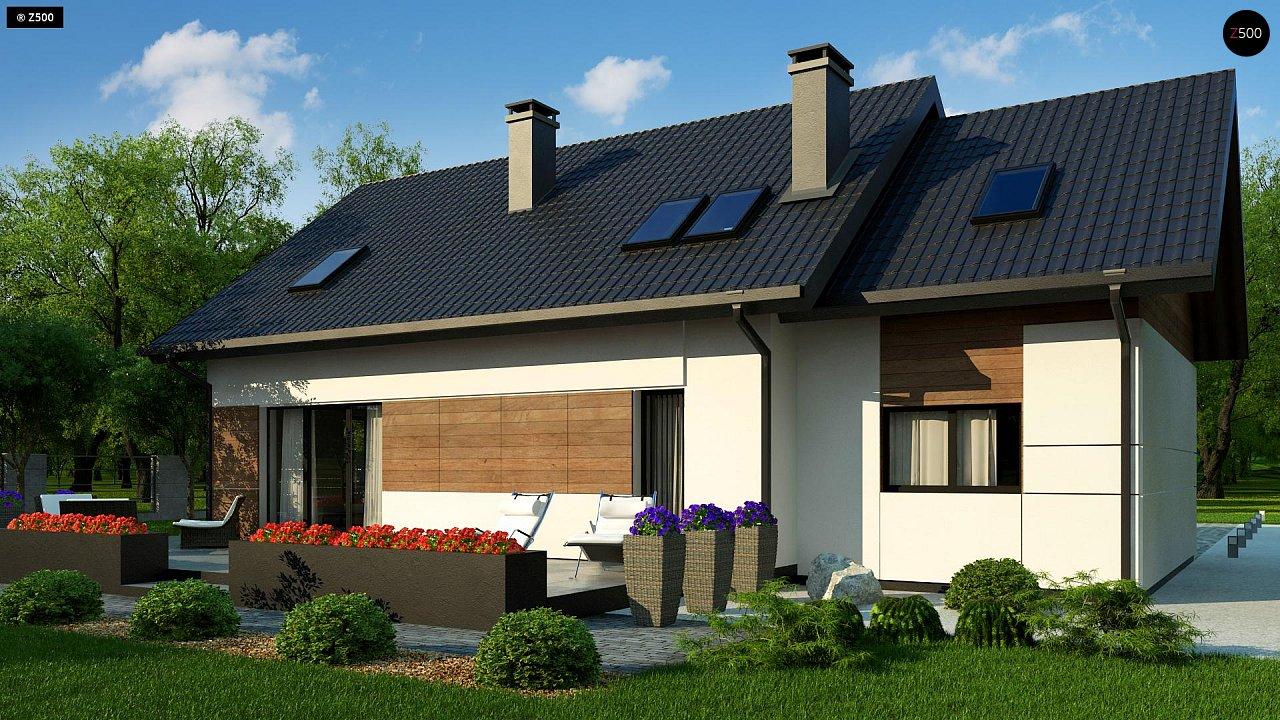 Проект дома Z405 - 1