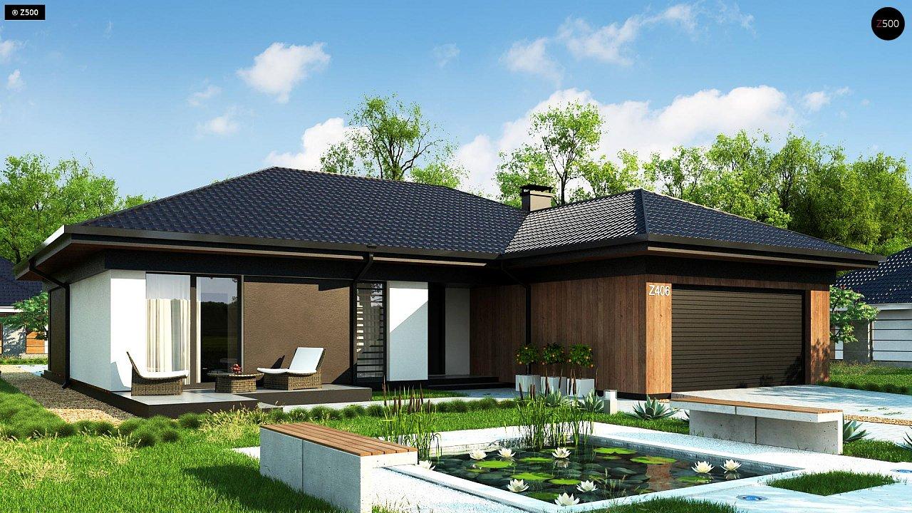 Проект дома Z406 - 1
