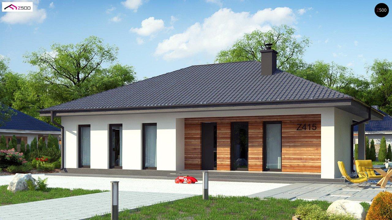 Проект дома Z415