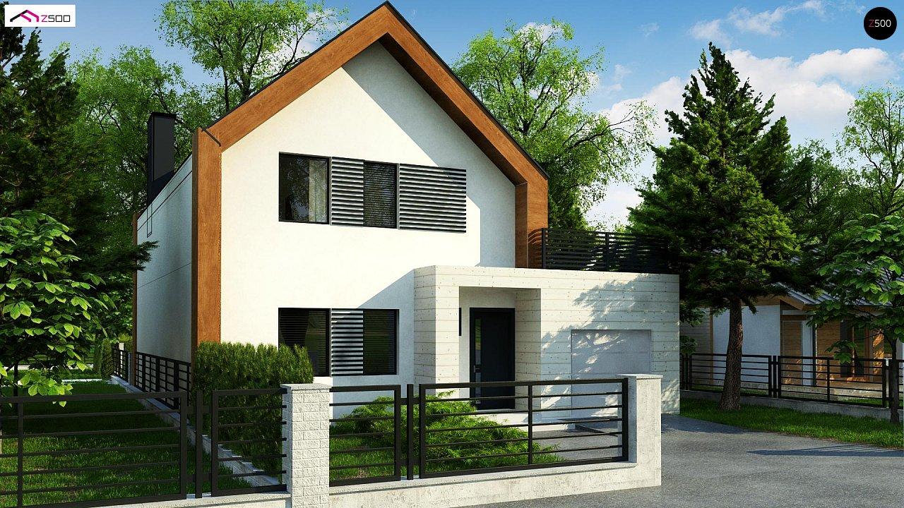 Проект дома Z424 - 1