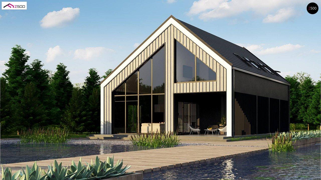 Проект дома Z445 D - 1