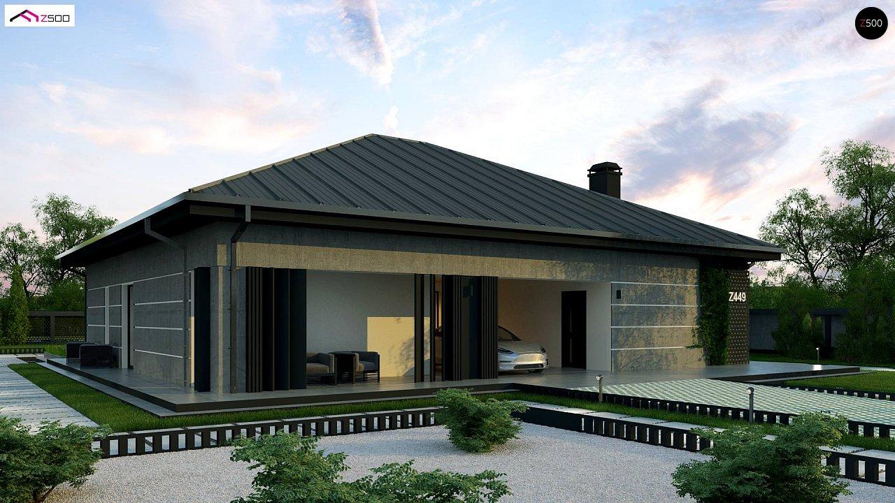 Проект дома Z449 - 1