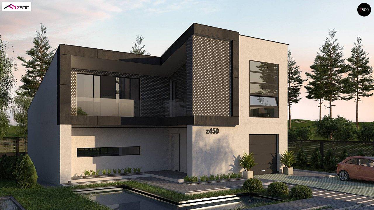 Проект дома Z450 - 1