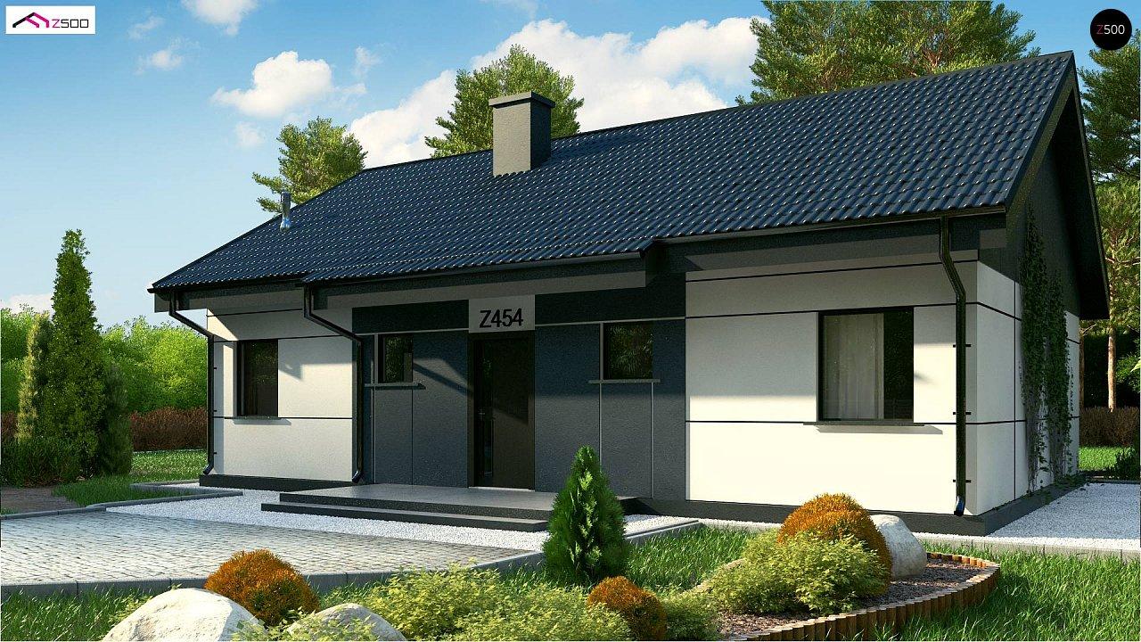 Проект дома Z454 Real Green - 1
