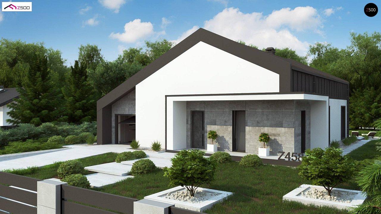 Проект дома Z458
